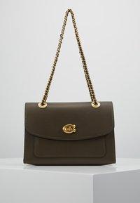 Coach - PARKER SHOULDER BAG - Handbag - moss - 0