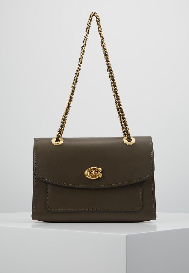Coach - PARKER SHOULDER BAG - Handbag - moss
