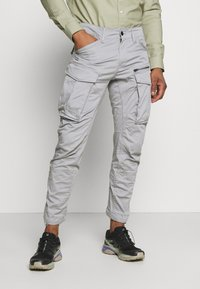 G-Star - ROVIC ZIP TAPERED - Cargobroek - steel grey - 0