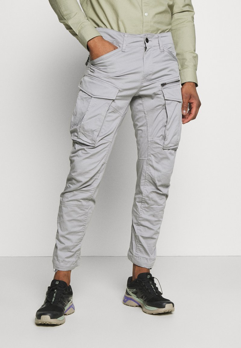 G-Star - ROVIC ZIP TAPERED - Cargobroek - steel grey
