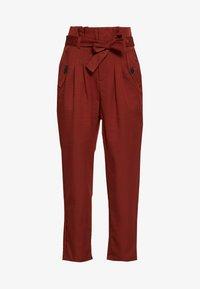 Noisy May - NMROBERT PANT - Trousers - burnt henna - 3