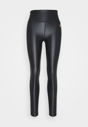 ROUND UP LEGGING - Tights - black