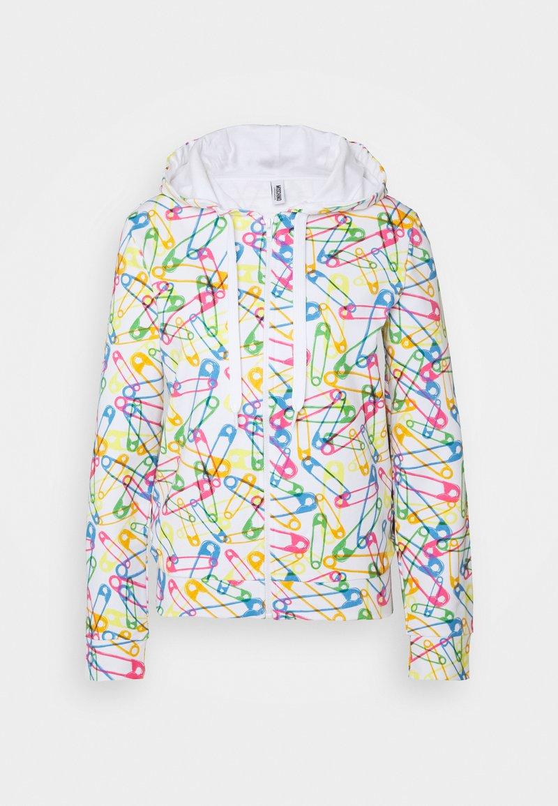 Moschino Underwear - HOODIE - Pyjamasoverdel - white