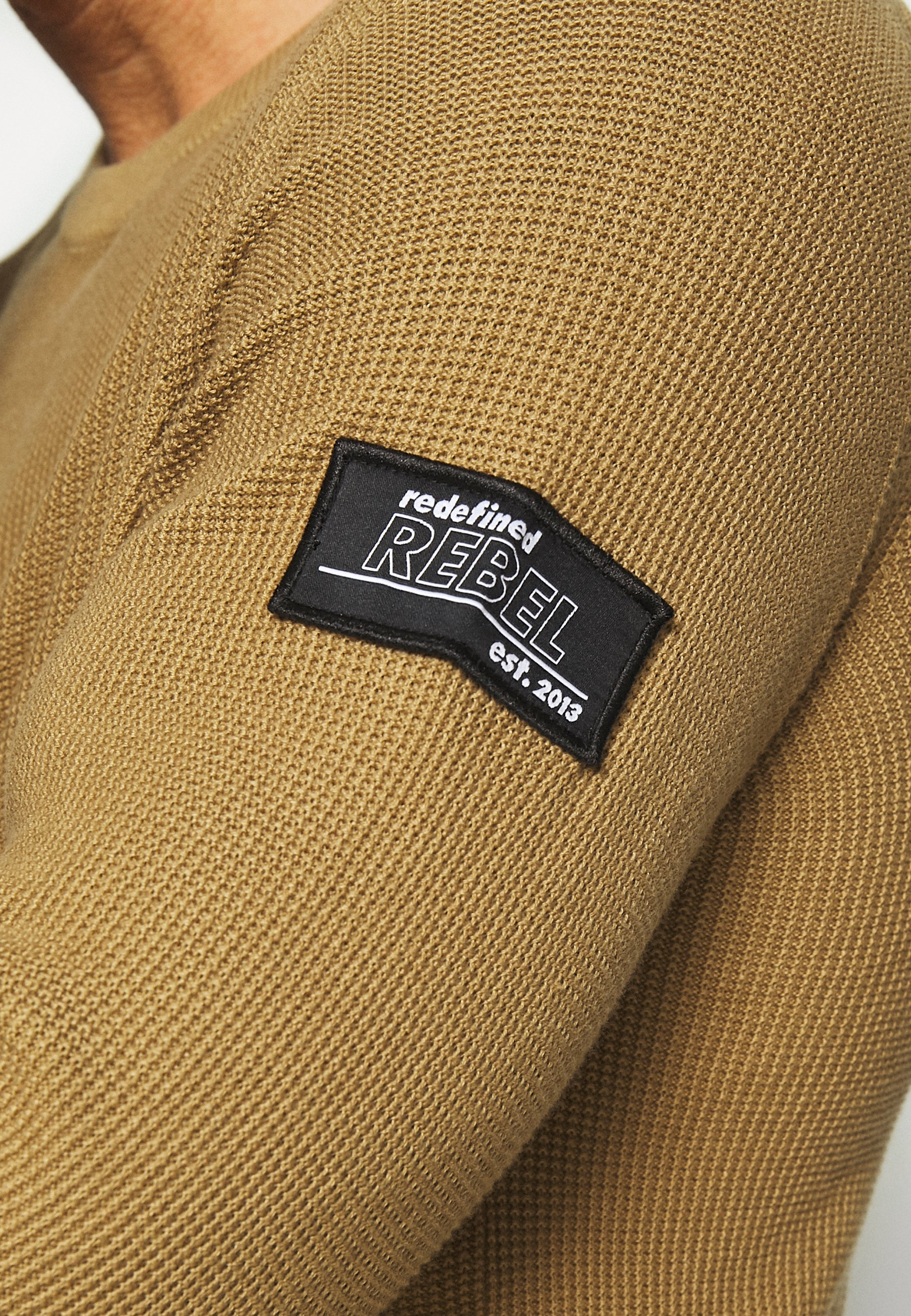 Redefined Rebel Bear - Strickpullover Travertine