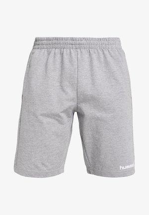 HMLGO BERMUDA - Short de sport - grey melange