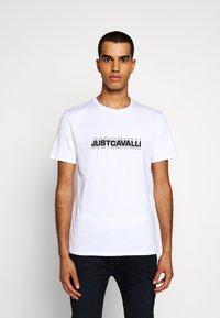 Just Cavalli - Print T-shirt - white - 0