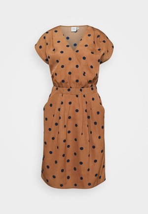IHBRUCE - Day dress - brown/black