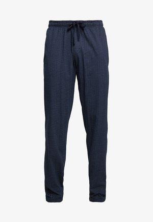 SCHLAFHOSE LANG - Pyjama bottoms - blue