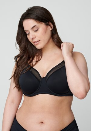 FREJA - Reggiseno push-up - black