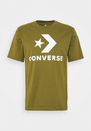 STAR CHEVRON TEE - T-shirt imprimé - cypress green