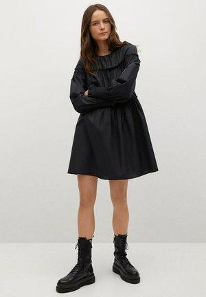 LIN - Day dress - schwarz