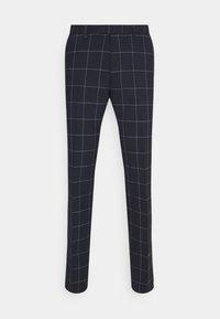 DRYKORN - PIET - Suit trousers - dark blue - 3