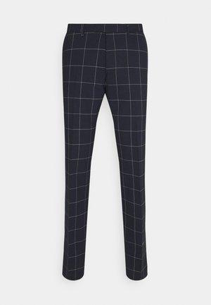 PIET - Oblekové kalhoty - dark blue