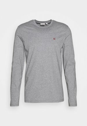 SALIS  - Long sleeved top - motlled grey