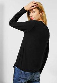 Street One - Long sleeved top - schwarz - 1