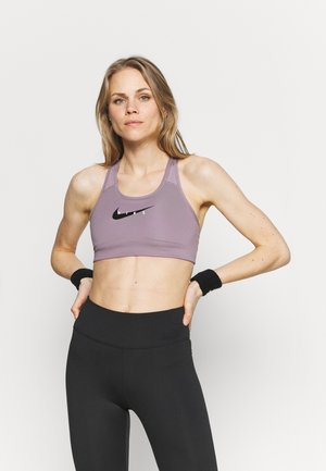 PACK BRA - Medium support sports bra - purple smoke/black