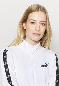 Puma - AMPLIFIED TRACK JACKET - Veste de survêtement - white - 3