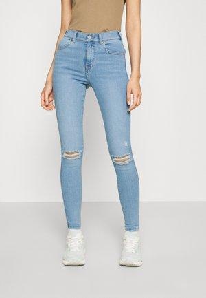 LEXY - Jeans Skinny Fit - hurricane light blue distress