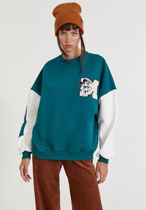 MICKEY MOUSE - Sweater - dark green