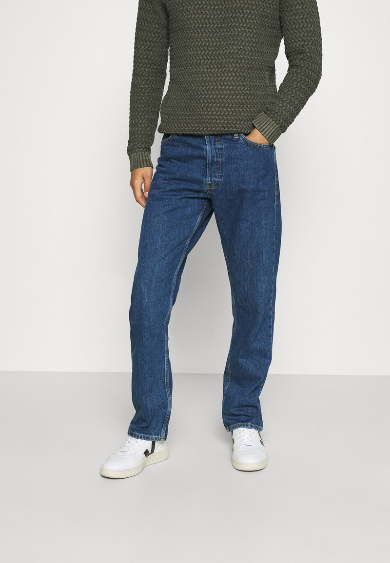 Jack & Jones - JJICHRIS JJORIGINAL - Straight leg jeans - blue denim