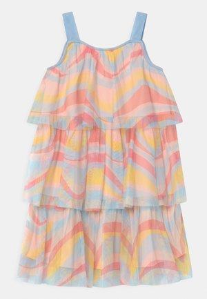 TIERED - Vestido de cóctel - multi-coloured