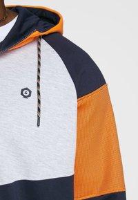 Jack & Jones - Zip-up hoodie - mottled dark blue - 4