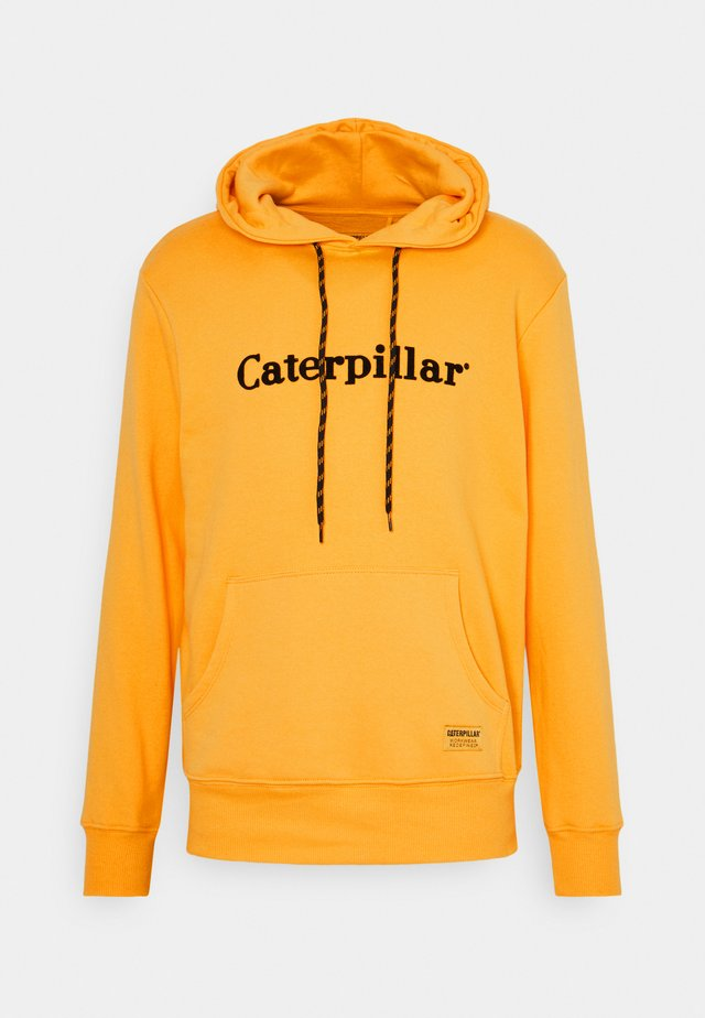 EMBROIDERY HOODIE - Sweatshirt - yellow