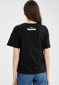 DeFacto - DISNEY PINOCCHIO - Print T-shirt - black - 2