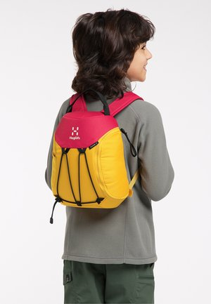 Hiking rucksack - pumpkin yellow/scarlet red