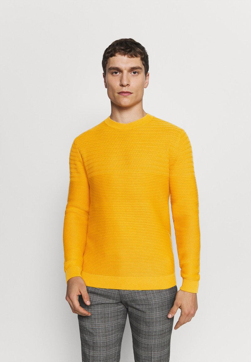Selected Homme - SLHCONRAD  - Jumper - golden glow