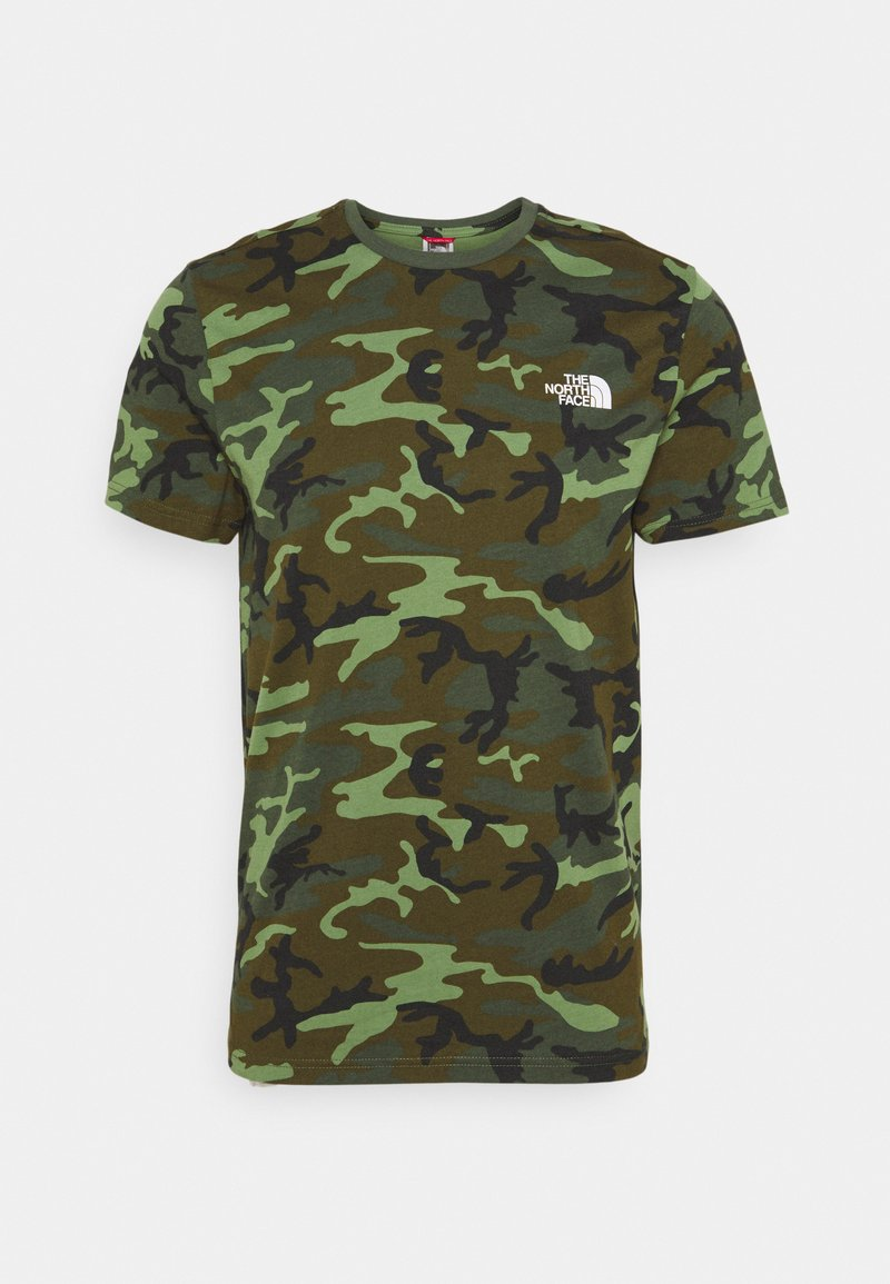 The North Face - SIMPLE DOME TEE - Basic T-shirt - thyme/brushwood