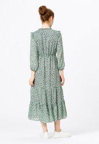 HALLHUBER - MIT VOLANTS - Day dress - dusty mint - 1
