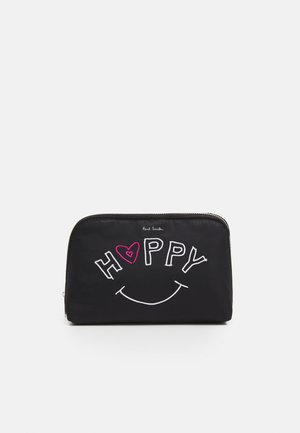 WASHBAG HAPPY - Kosmetiktasche - black