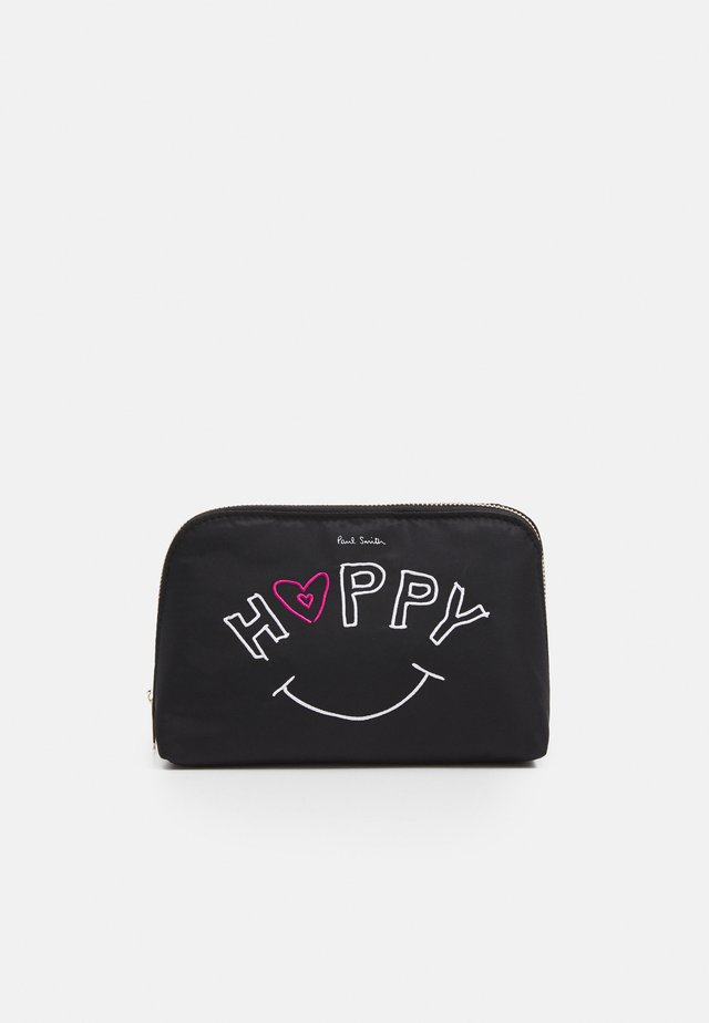WASHBAG HAPPY - Wash bag - black