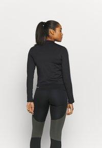 Nike Performance - AIR MID - Sports shirt - black/silver - 2