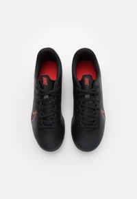 Nike Performance - MERCURIAL JR VAPOR 13 CLUB FG/MG UNISEX - Moulded stud football boots - black/dark smoke grey - 3
