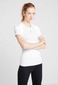 ODLO - CREW NECK ACTIVE SPINE LIGHT - Print T-shirt - white - 0
