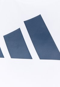 adidas Performance - 3 BAR LOGO TANK TOP (PLUS SIZE) - Camiseta de deporte - white/crew red/crew navy - 2