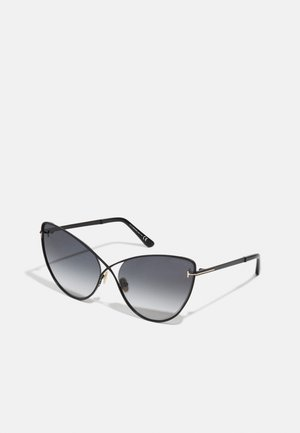 Sunglasses - matte black/gradient smoke