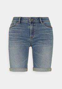 Esprit - JOG - Denim shorts - blue light wash - 0