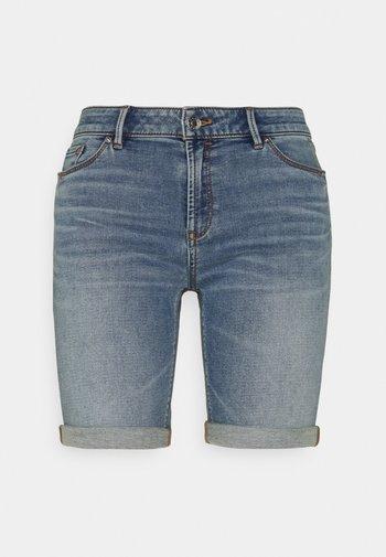 JOG - Denim shorts - blue light wash