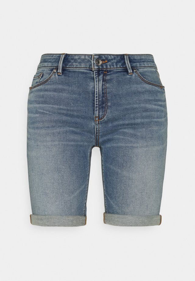 JOG - Shorts di jeans - blue light wash