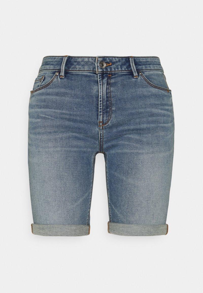 Esprit - JOG - Denim shorts - blue light wash