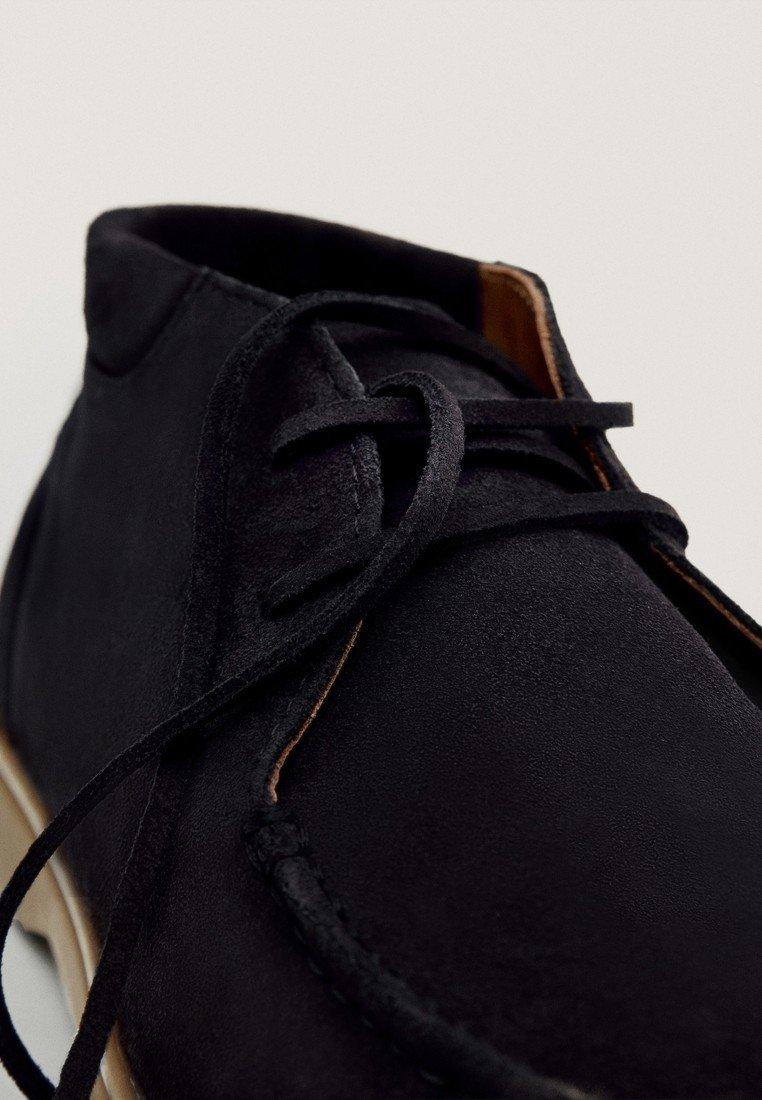 Meilleurs prix Massimo Dutti Bottines à lacets blue
