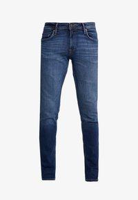 JJIGLENN JJFELIX  - Slim fit jeans - blue denim