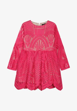 EMBROIDED DRESS - Cocktail dress / Party dress - paradise pink