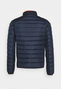 TOM TAILOR - HYBRID JACKET - Light jacket - dark blue - 1