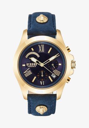 LION EXTENSION - Kronograf - gold-coloured/blue