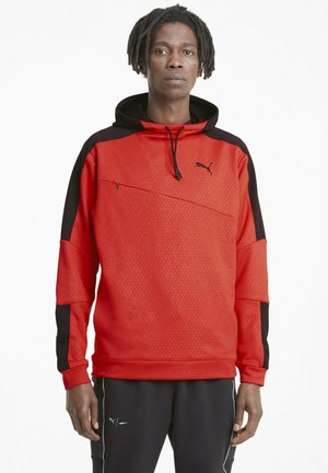TRAIN ACTIVATE HOODIE - Hoodie - red