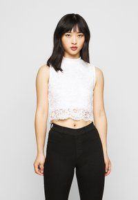 Even&Odd Petite - Top - black/white - 1